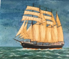 Carl Vinnen, signed oil painting