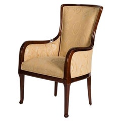 Louis Majorelle, Art Nouveau Mahogany Desck Chair, France, circa 1925
