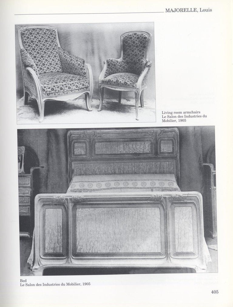 Early 20th Century Louis Majorelle Art Nouveau Full-Length Sofa For Sale
