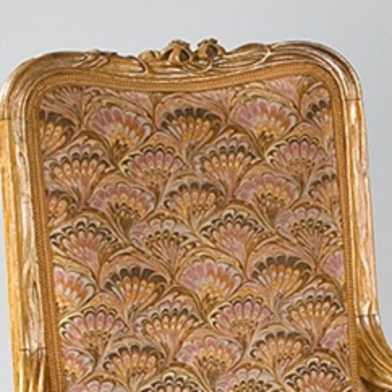 Louis Majorelle French Art Nouveau Armchair In Excellent Condition For Sale In New York, NY