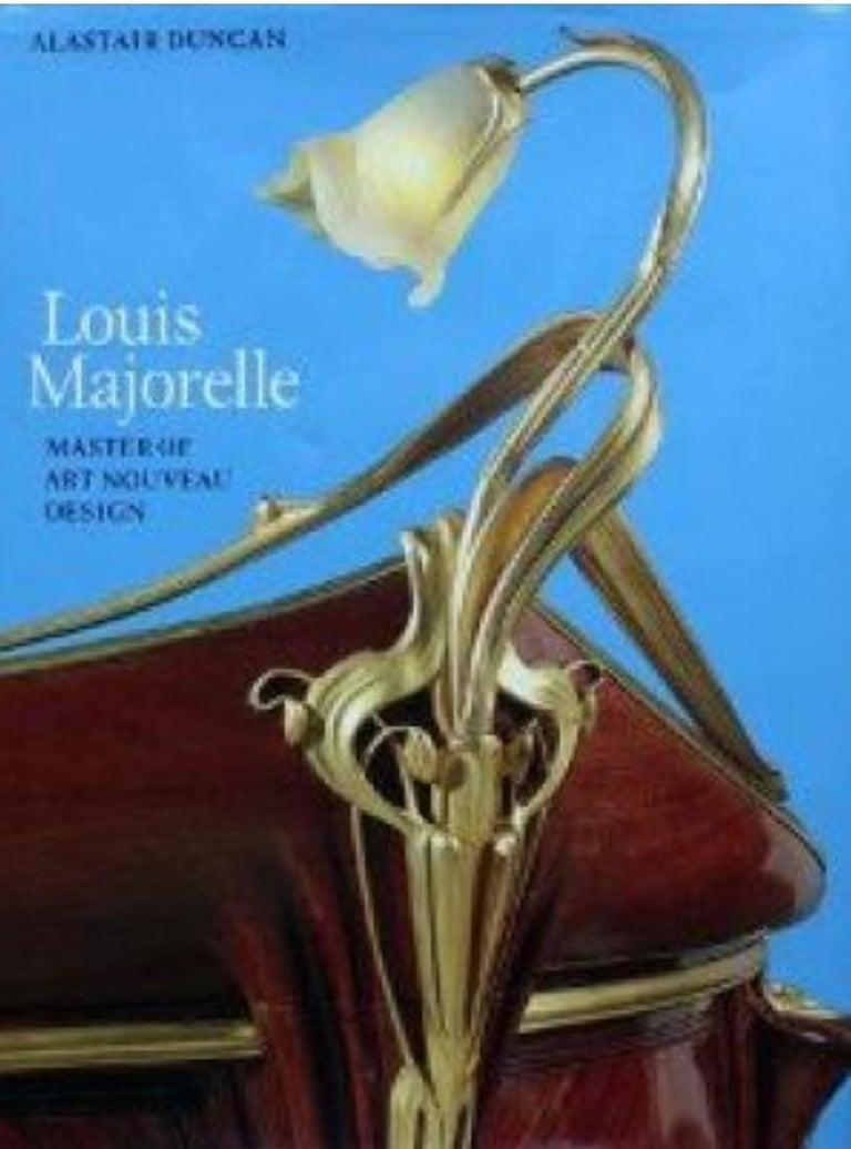 Walnut Louis Majorelle French Art Nouveau Game Table, France, 1900 For Sale