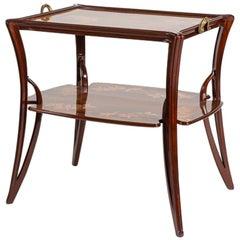 """Louis Majorelle, """"Olga, Model no. 323"""" Art Nouveau Side Table, France circa 1900"""