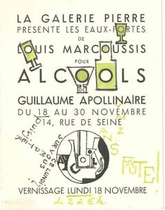 Invitation from Louis Marcoussis to Countess Pecci Blunt