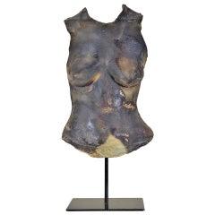 Louis Mendez Ceramic Bust on Custom Stand