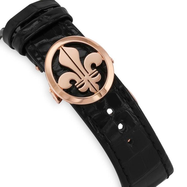 Louis Moinet 18 Karat Rose Gold Memoris Chronograph For Sale 1