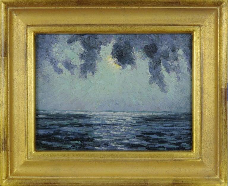 Louis Oscar Griffith Landscape Painting - Storms (At Sea)