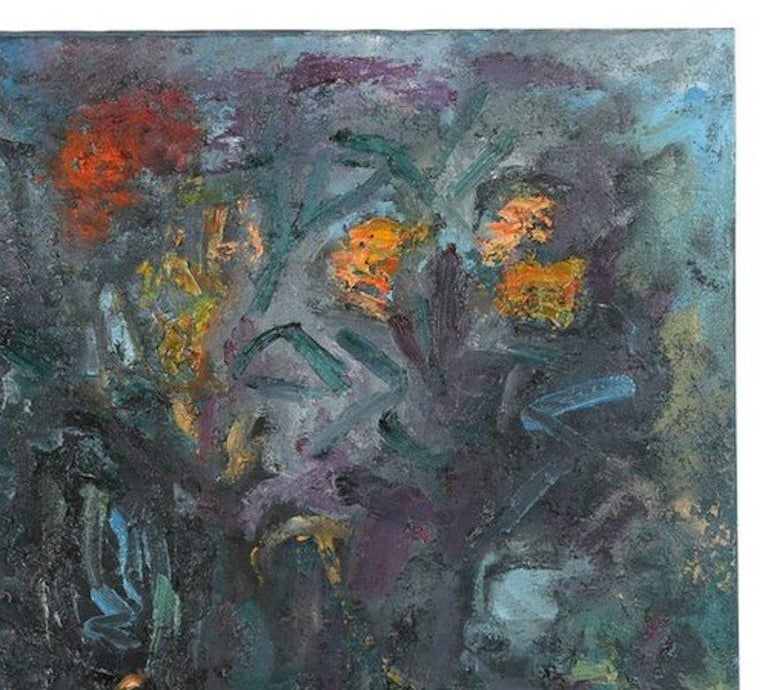 Louis Papp, Abstract Mixed-Media Artwork, 1993 In Good Condition In Chicago, IL