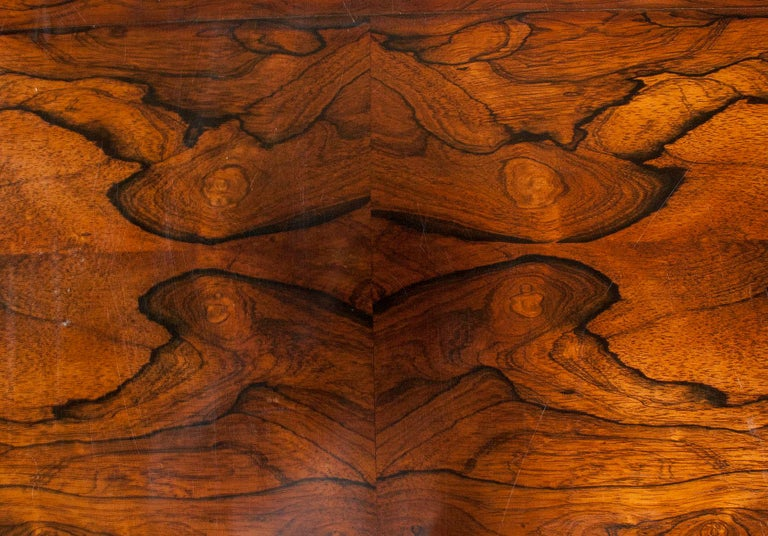 Louis Philipe Mahogany Veneered Centertable or Writing Table, France circa 1850 For Sale 12