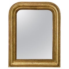 Louis Philippe Arch Top Gilt Mirror