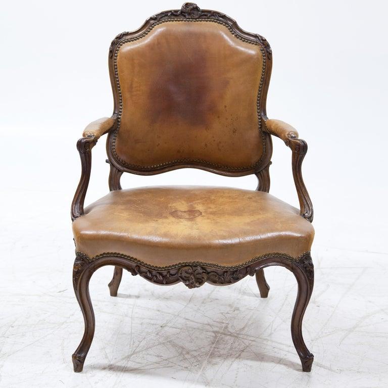 European Louis Philippe Armchair, Mid-18th Century For Sale