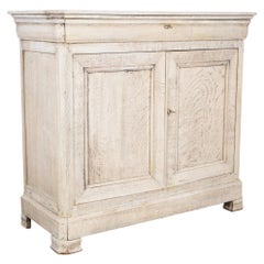 Louis Philippe Bleached Oak Buffet