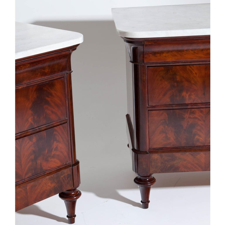 Italian Louis Philippe Chests of Drawers, Italy, 1830s-1840s For Sale