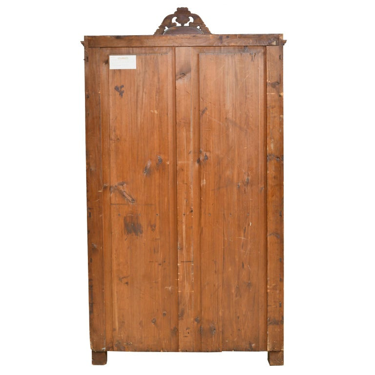 Louis Philippe Fall-Front Secretary in Cherrywood, Germany, circa 1850 For Sale 2