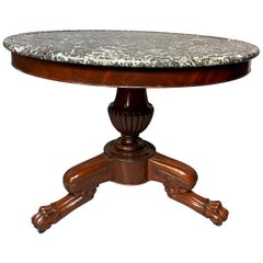 Louis Philippe Mahogany Center Table