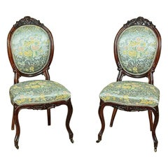 Louis Philippe Mahogany Chairs, circa 1860