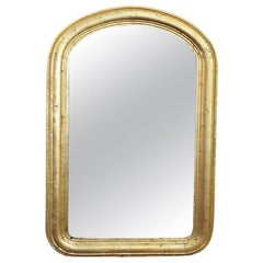 Louis Philippe Mirror in Gilt Wood Frame
