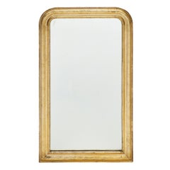 Louis Philippe Period Gold Leafed Mirror