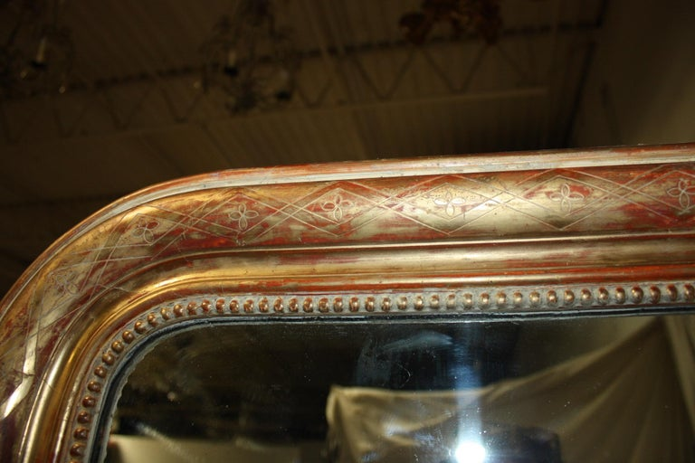 Louis Philippe Louis-Philippe Period Mirror, 19th Century For Sale