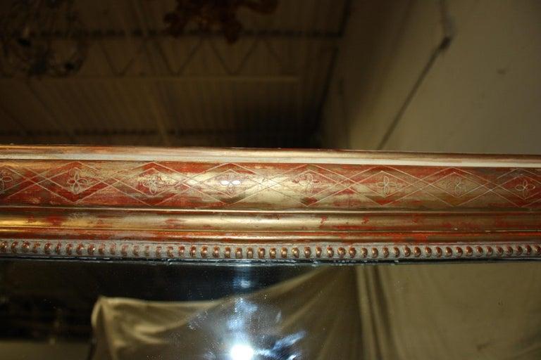 Louis-Philippe Period Mirror, 19th Century In Good Condition For Sale In Atlanta, GA