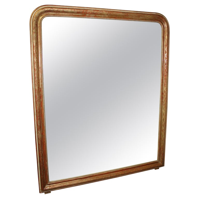 Louis-Philippe Period Mirror, 19th Century For Sale