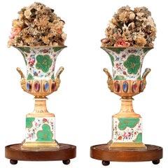 Louis-Philippe Porcelain Medici Vases