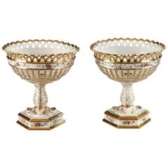 Louis-Philippe Porcelain Vases