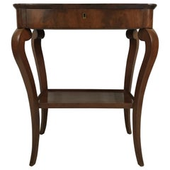 Louis-Philippe Side Table or Console, 19th Century