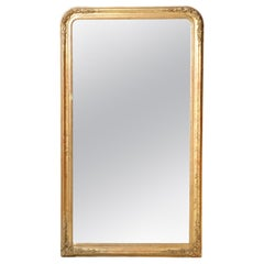Louis Philippe Style Giltwood Mirror