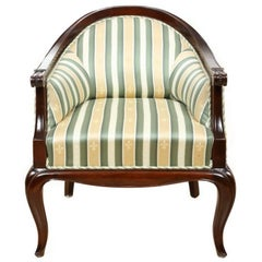 Louis Philippe Walnut Armchair, circa 1860
