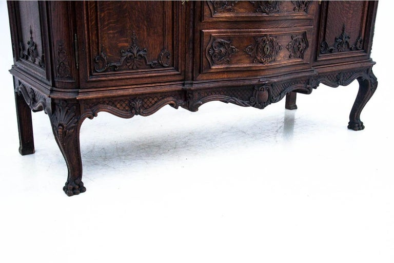 Louis Phillipe Walnut Chest of Drawers, France, circa 1880 For Sale 1