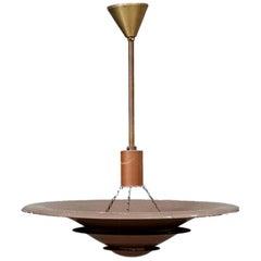 Louis Poulsen 1930 Uplight in Copper