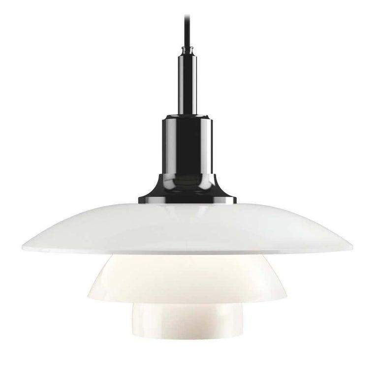 Danish Louis Poulsen, 200/290/330 Pendant Light by Poul Henningsen For Sale