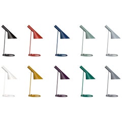 Louis Poulsen, AJ Color Mini Table Lamp by Arne Jacobsen