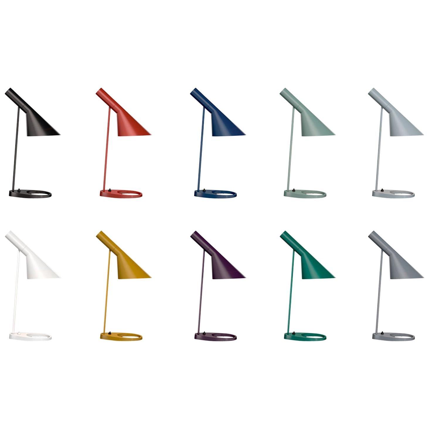 Louis Poulsen, AJ Color Table Lamp by Arne Jacobsen