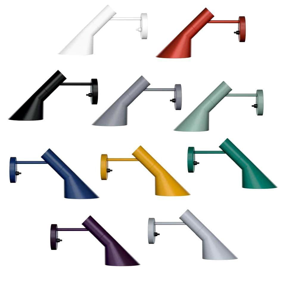 Louis Poulsen, AJ Color Wall Lamp by Arne Jacobsen