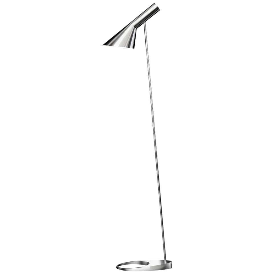 Louis Poulsen, AJ Steel Floor Lamp by Arne Jacobsen