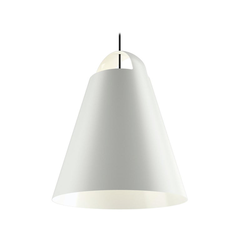 For Sale: White (white.jpg) Louis Poulsen Extra Large above Pendant Lamp by Mads Odgård