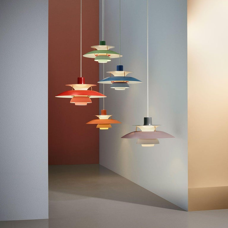 Louis Poulsen, Extra Large Metal Pendant Light by Poul Henningsen For Sale 6