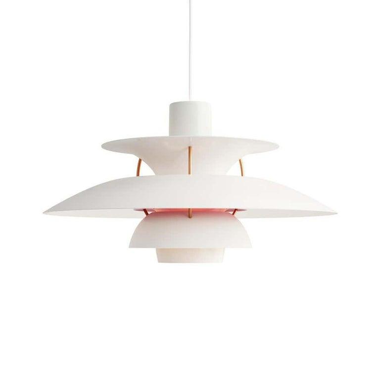 Danish Louis Poulsen, Extra Large Metal Pendant Light by Poul Henningsen For Sale