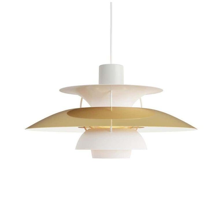 Modern Louis Poulsen, Extra Large Metal Pendant Light by Poul Henningsen For Sale