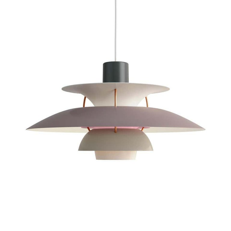 Contemporary Louis Poulsen, Extra Large Metal Pendant Light by Poul Henningsen For Sale