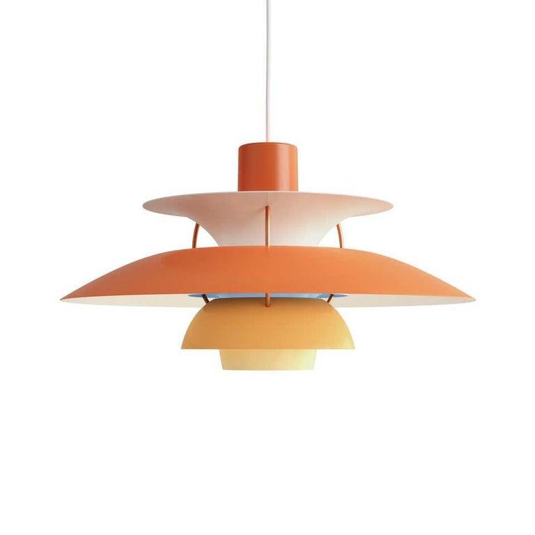 Louis Poulsen, Extra Large Metal Pendant Light by Poul Henningsen For Sale 1