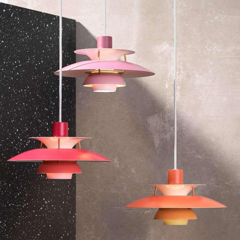 Louis Poulsen, Extra Large Metal Pendant Light by Poul Henningsen For Sale 4