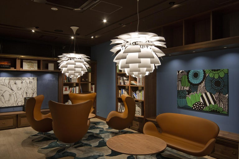 Louis Poulsen Extra Large PH Artichoke Pendant Light by Poul Henningsen For Sale 2