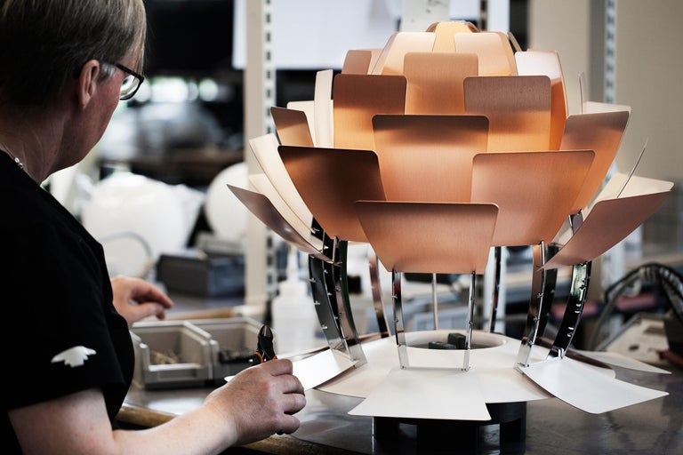 Louis Poulsen Extra Large PH Artichoke Pendant Light by Poul Henningsen For Sale 11
