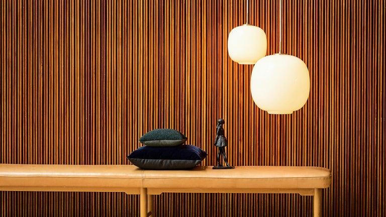 Danish Louis Poulsen, Glass Pendant Light by Vilhelm Lauritzen For Sale