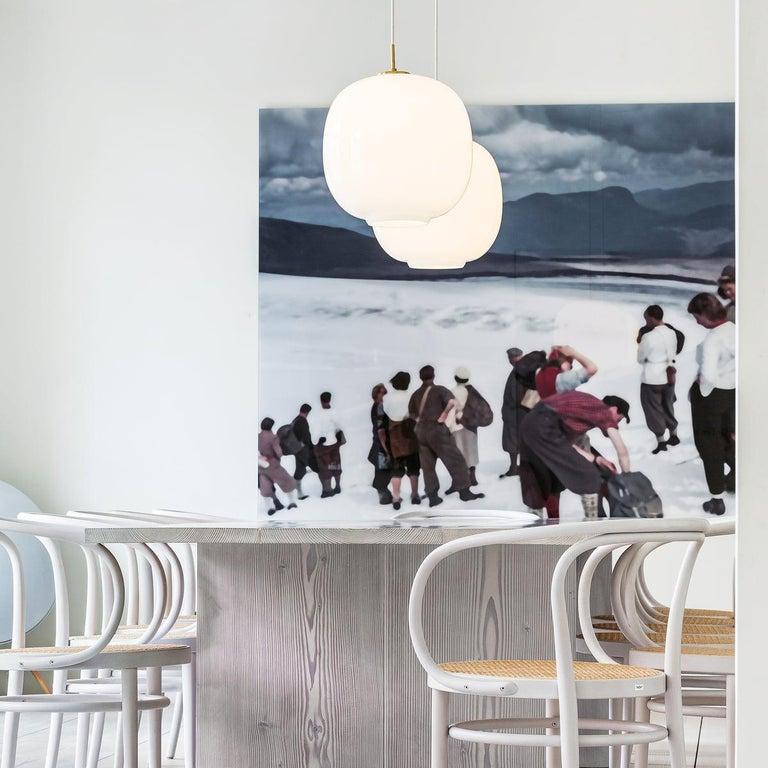 Louis Poulsen, Glass Pendant Light by Vilhelm Lauritzen In New Condition For Sale In Saint-Ouen, FR
