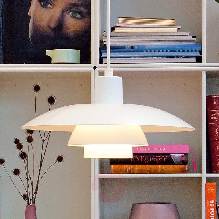 Danish Louis Poulsen, Large Metal Pendant Light by Poul Henningsen For Sale