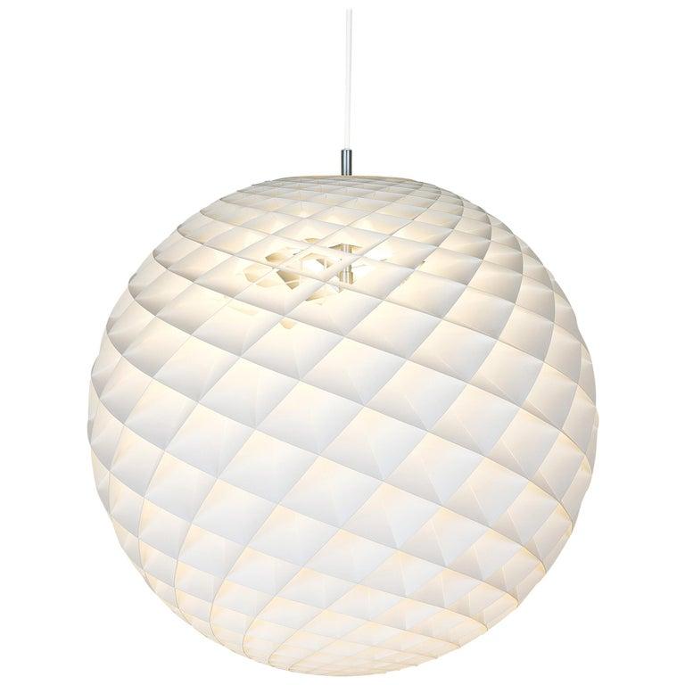 For Sale: White (patera white.jpg) Louis Poulsen Large Patera Pendant Light by Øivind Slaatto