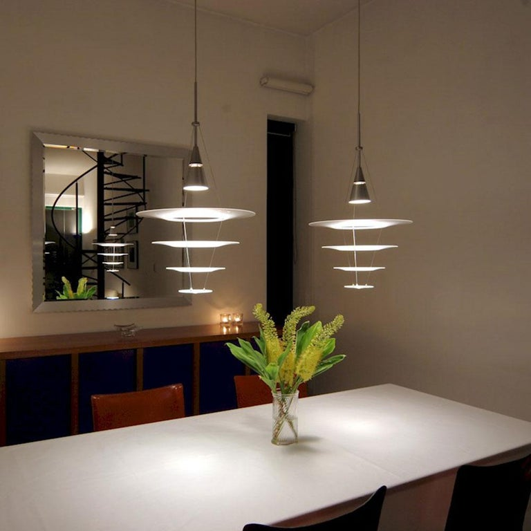 Danish Louis Poulsen, Large Pendant Lamp by Shoichi Uchiyama For Sale
